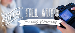 Säg Nej till Auto – Privatkurs 2timmar